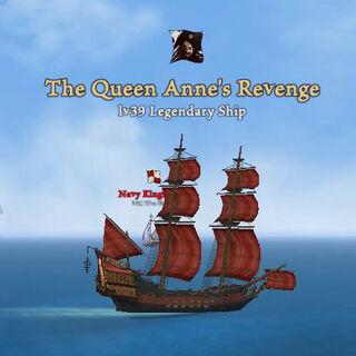 The legendary ship.