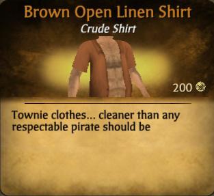 File:Brown Open Linen Shirt.jpg
