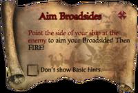 Scroll AimBroadsides