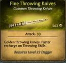 Fine Throwing Knives
