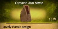 Tiki Arm Tattoo