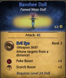 Banshee Doll-clearer