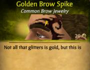 GoldenBrowSpike