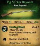 Pigsticker Bayonet