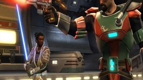 """""""Star Wars The Old Republic"""" Gameplay Trailer - Classes"""