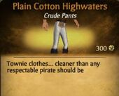 Cotton Highwaters