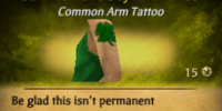 Saint Patrick's Day Arm Tattoo