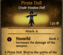 Weapon Upgrade: Pirate Doll