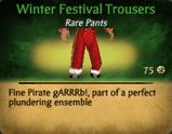 Winter Festival Pants