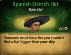 Spanish Ostrich Hat