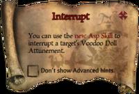Scroll Interrupt
