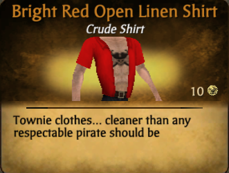 File:Bright Red Open Linen Shirt.png