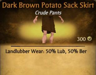 File:Dark Brown Potato Sack Skirt.jpg
