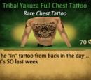 Tribal Yakuza Full Chest Tattoo