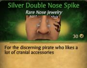SilverDoubleNoseSpike
