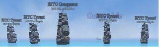 Treasure Fleet Formation
