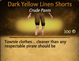File:Dark Yellow Linen Shorts.jpg