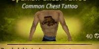 Spanish Chest Tattoo