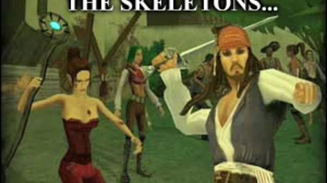 Pirates of the Caribbean Online - Banner Ad 1