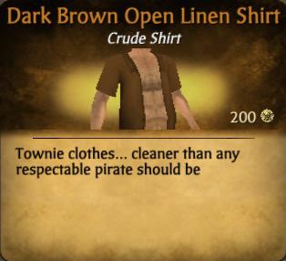 File:Dark Brown Open Linen Shirt.jpg