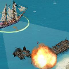 Brigantine at battle