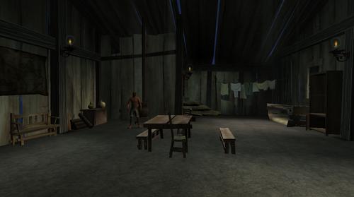 Orindas shack interior