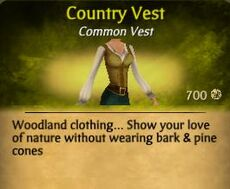 F Country Vest