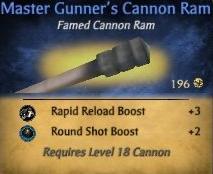 MasterGunnersCannonRam