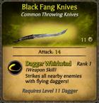 Black Fang Knives Card