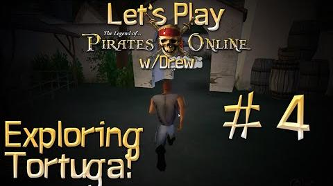 Let's Play TLOPO w Drew - 4 Exploring Tortuga!