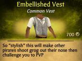 Embellished Vest