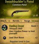 Swashbuckler's Pistol