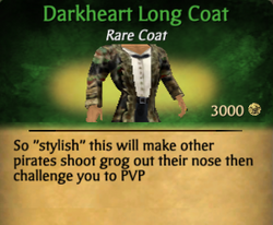 Darkheart long coat clearer