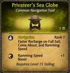 Privateer's Sea Globe Card