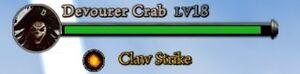 Claw Strike Health Bar