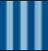 Blue stripe emblem