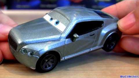 Cars 2 Prince Wheeliam 42 Diecast Chase Disney Figure Mattel Pixar Collection