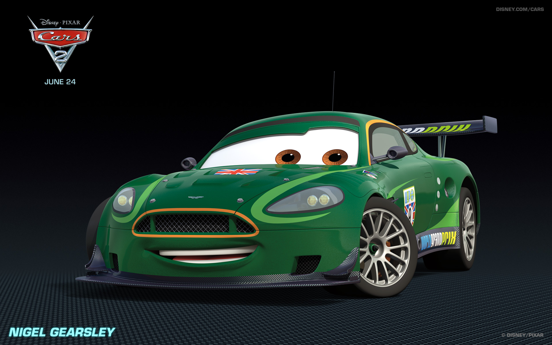 nigel gearsley - Cars The Movie 2 Characters