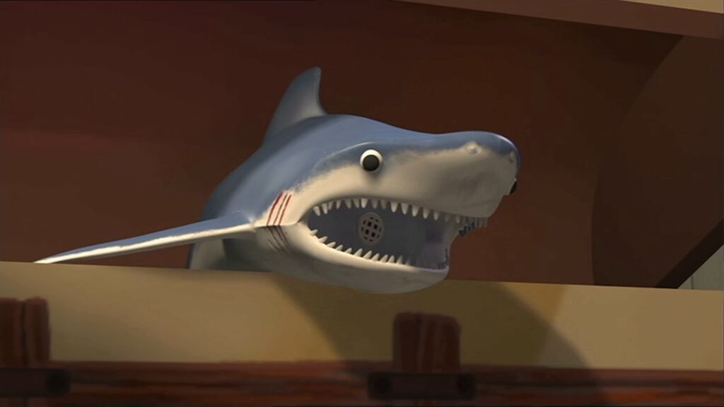 Shark Toy Box : Mr shark pixar wiki fandom powered by wikia