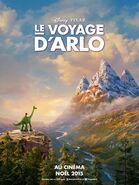 The Good Dinosaur French Poster