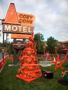 Cozy Cone Chirstmas Tree