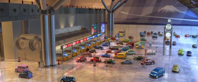 File:Airport cars 2 tokyo japan.jpg