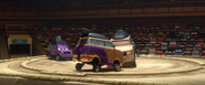 Car ring fight screenshot