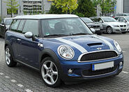 250px-Mini Cooper S Clubman Facelift front 20100508
