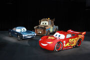 Cars 2 model life size