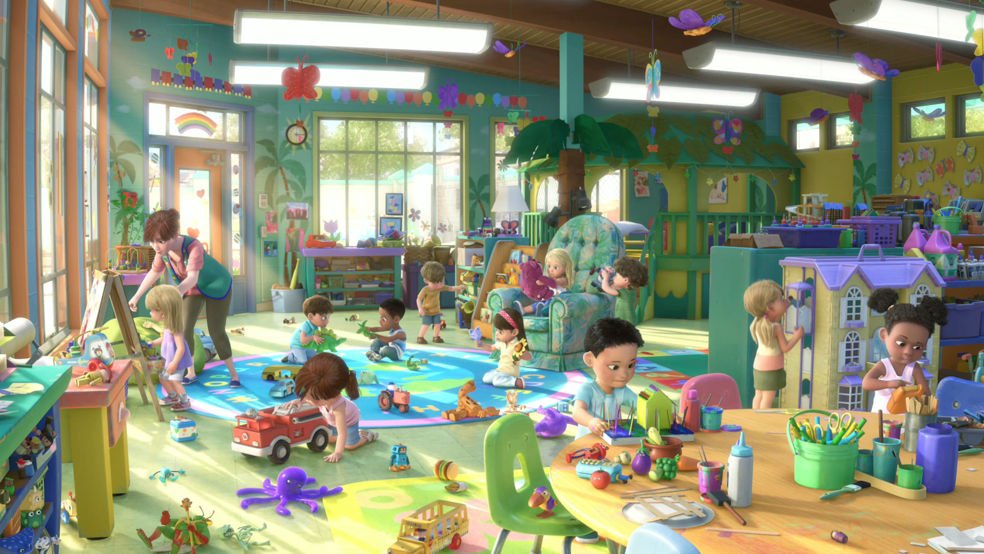 Day Care Toys For Toddler : Butterfly room pixar wiki fandom powered by wikia