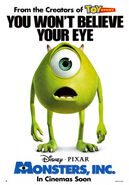 Monsters, Inc. Poster 3