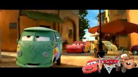 Disney Pixar's Cars 2 Spot Drive Fast