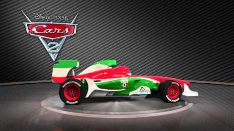 Cars 2 - Francesco Bernoulli Turntable