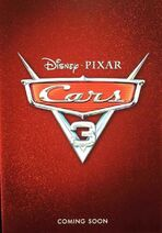 Cars Coming Soon Poster